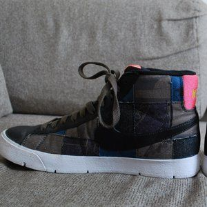 Nike Unisex Limited Edition Patchwork Sneakers